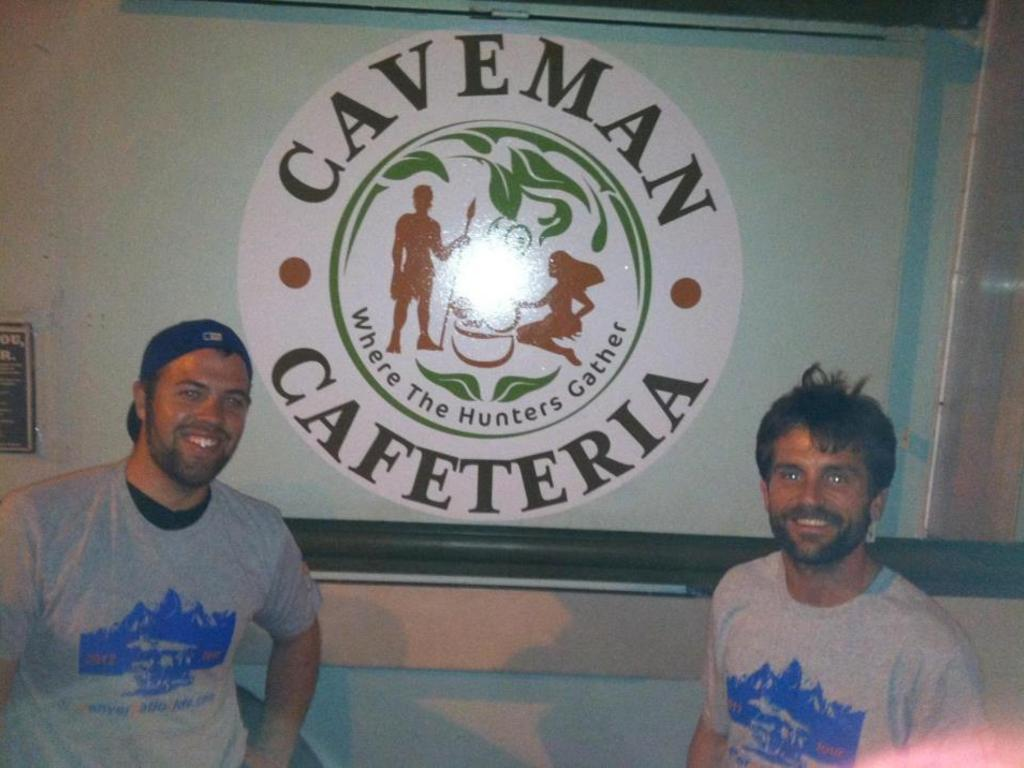 Caveman Cafeteria: 1st Paleo Stand on Denver's 16th St Mall!'s video poster