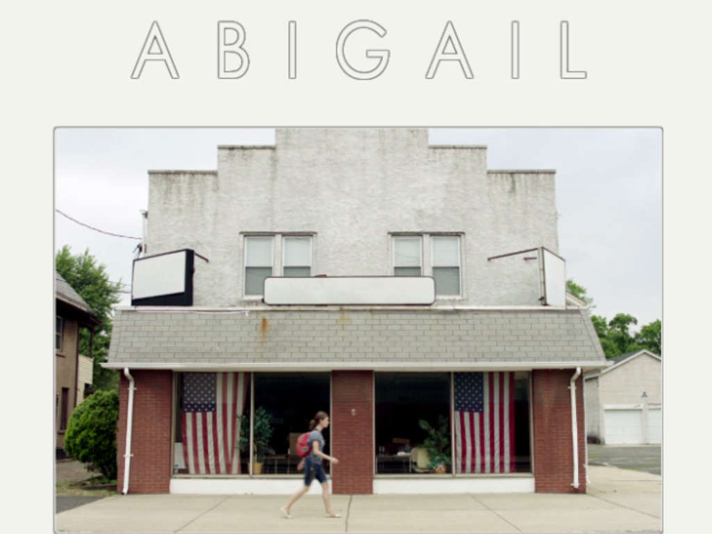 ABIGAIL's video poster