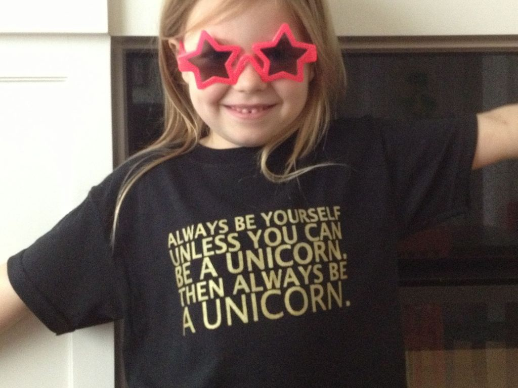 Always Be Yourself, Unless You Can Be A Unicorn.'s video poster