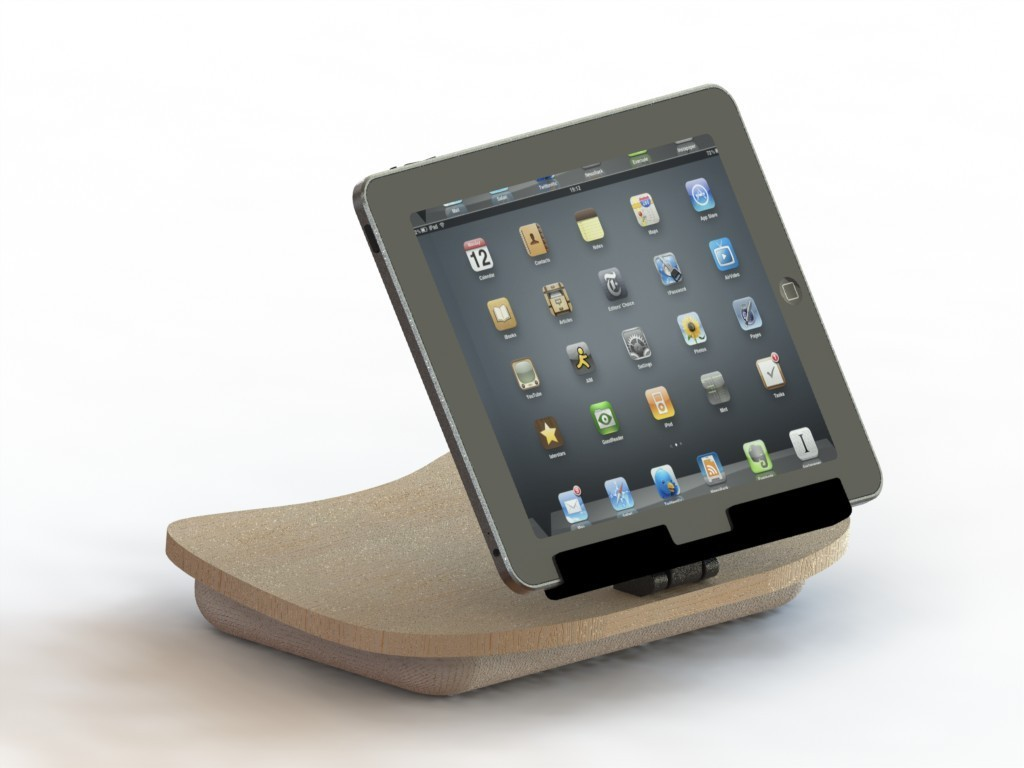 Lap Desk for Your iPad, Tablet Computer or eReader's video poster