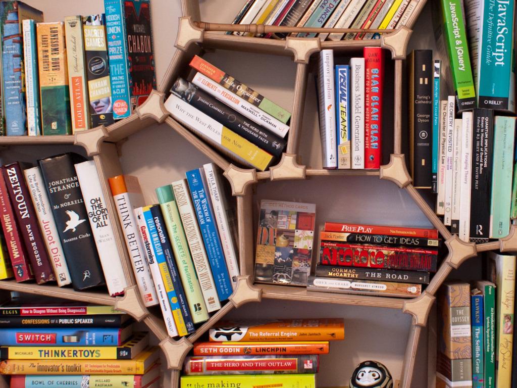 Voronoi Bookshelf's video poster