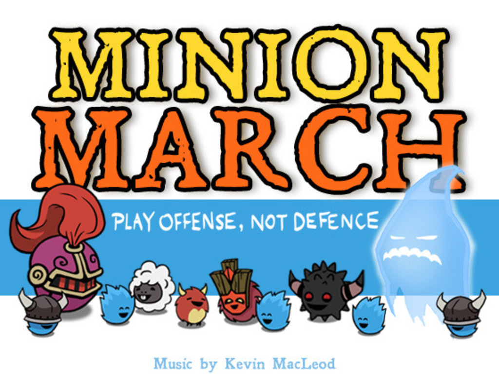 Minion March's video poster