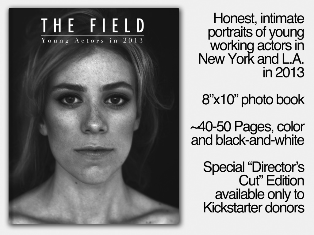 The Field: Young Actors in 2013—Coffee Table Book's video poster