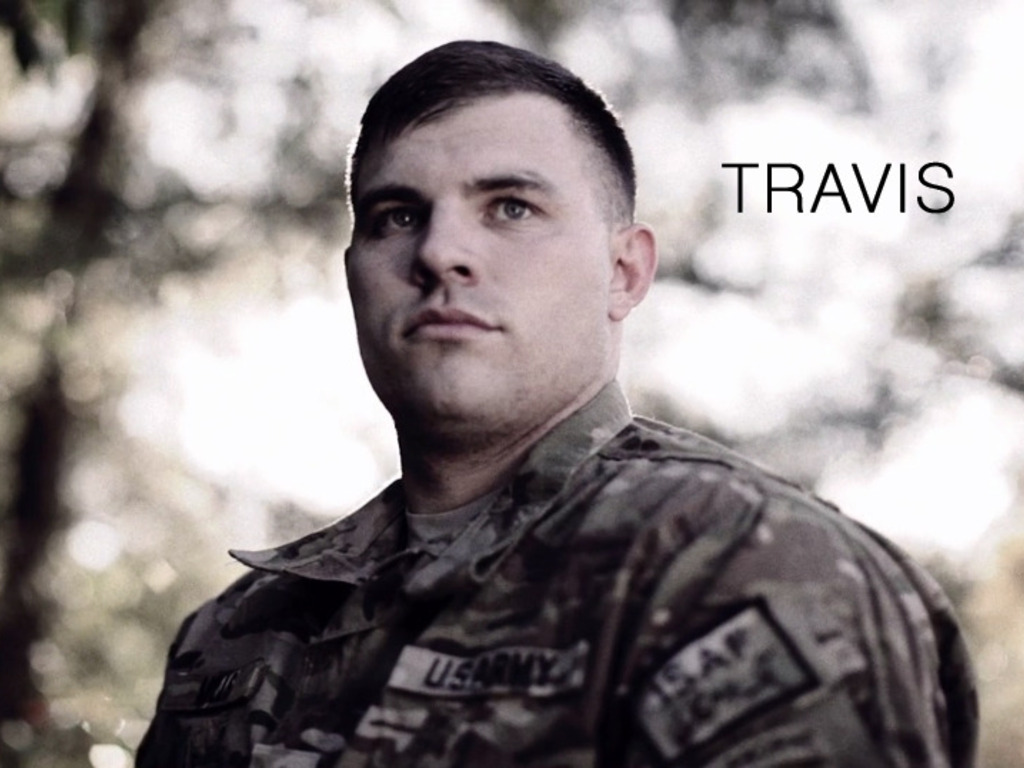 Travis: A Soldier's Story's video poster