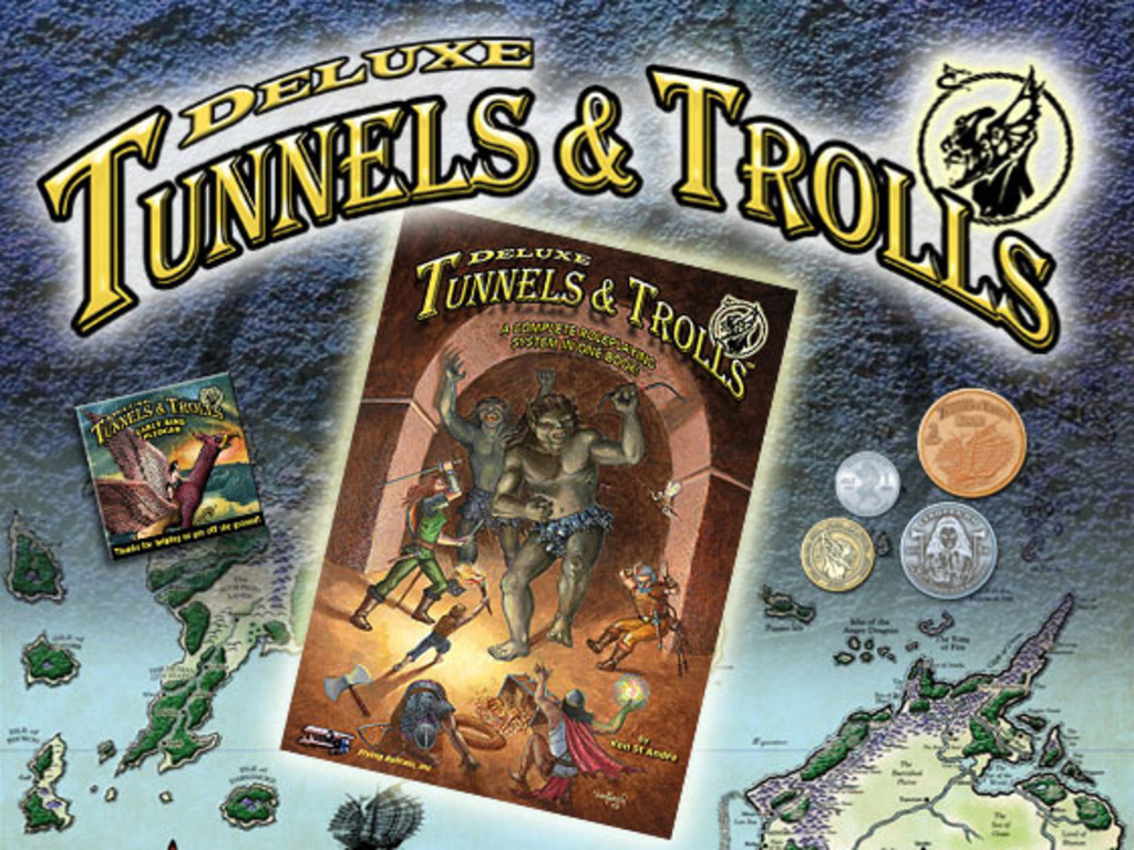Deluxe Tunnels & Trolls's video poster