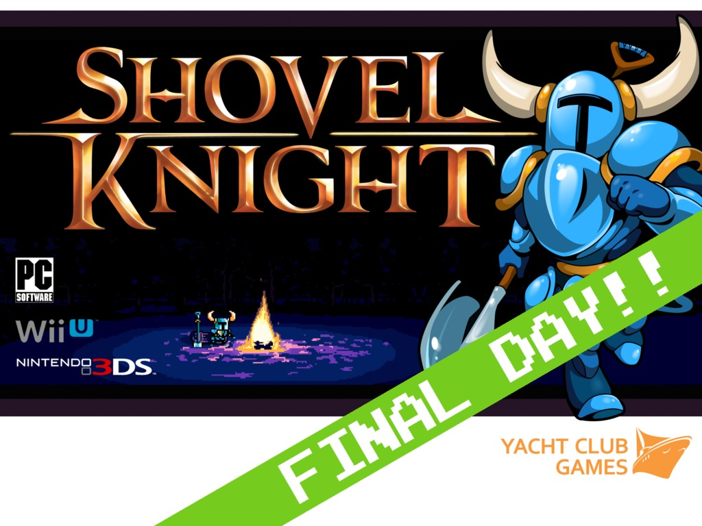 Shovel Knight's video poster