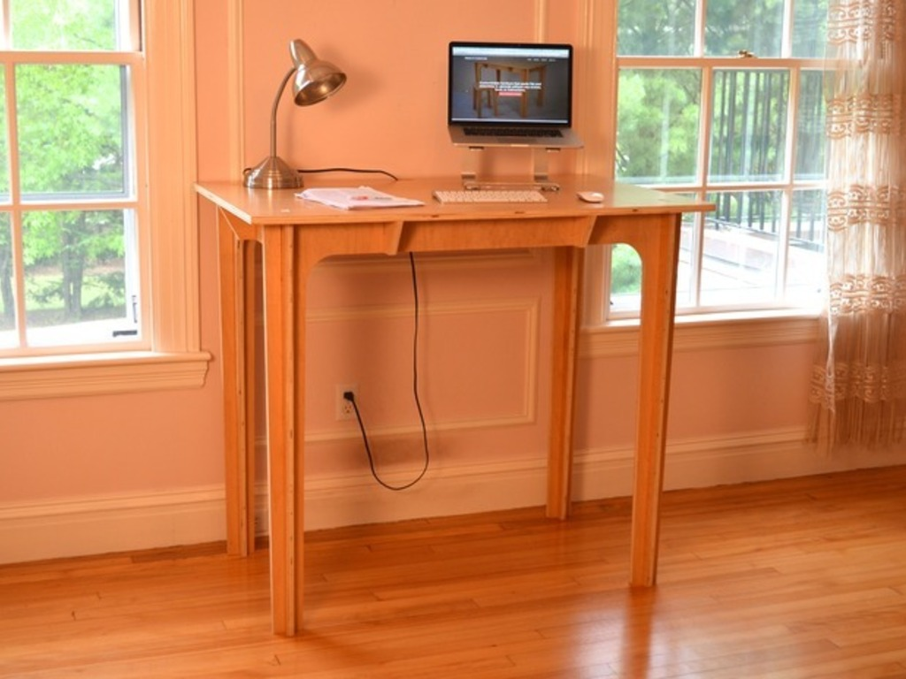 Press Fit Standing Desk: Affordable, Portable, Made in USA's video poster