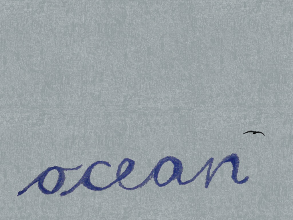 THE OCEAN feature movie's video poster
