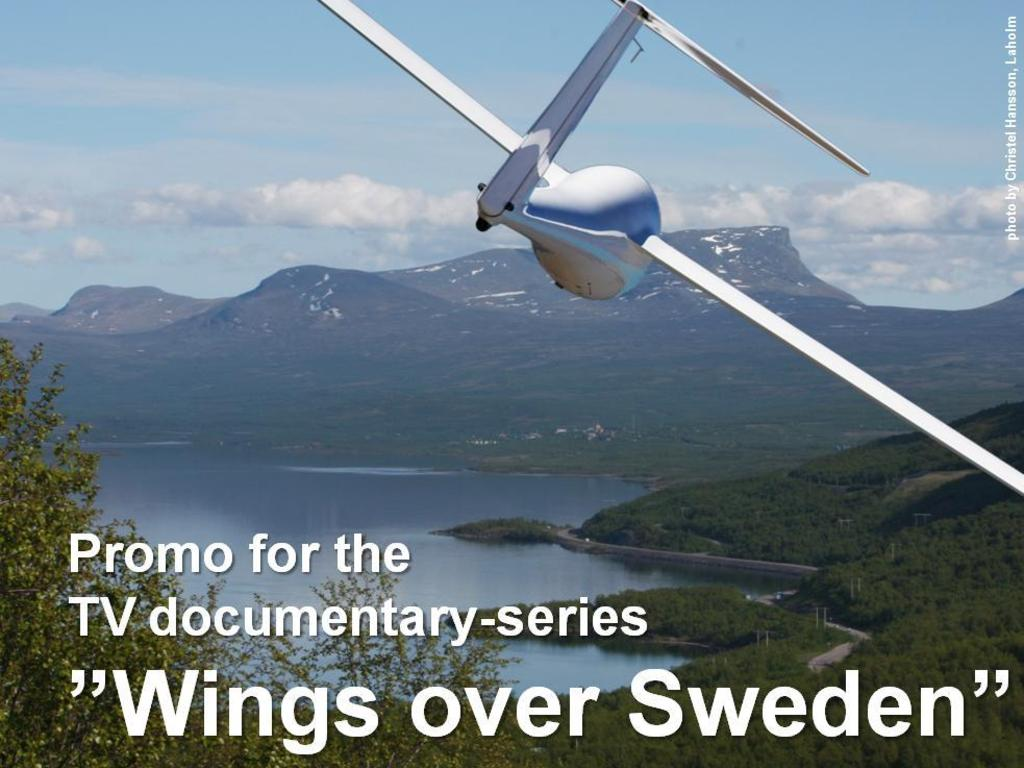 Wings over Sweden's video poster