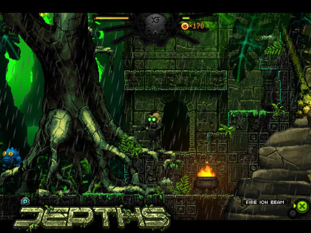 Depths's video poster
