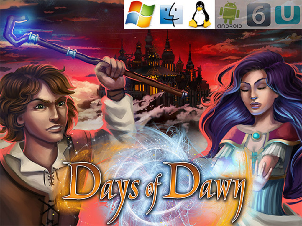 Days of Dawn – turn-based RPG with unique magic system's video poster