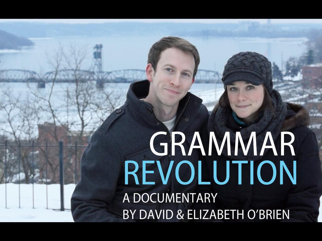Grammar Revolution's video poster