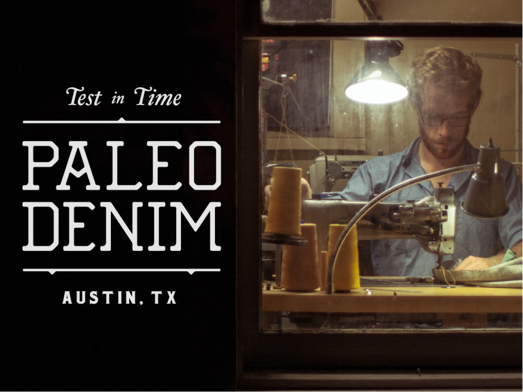 Paleo Denim - Handmade jeans and leather goods's video poster