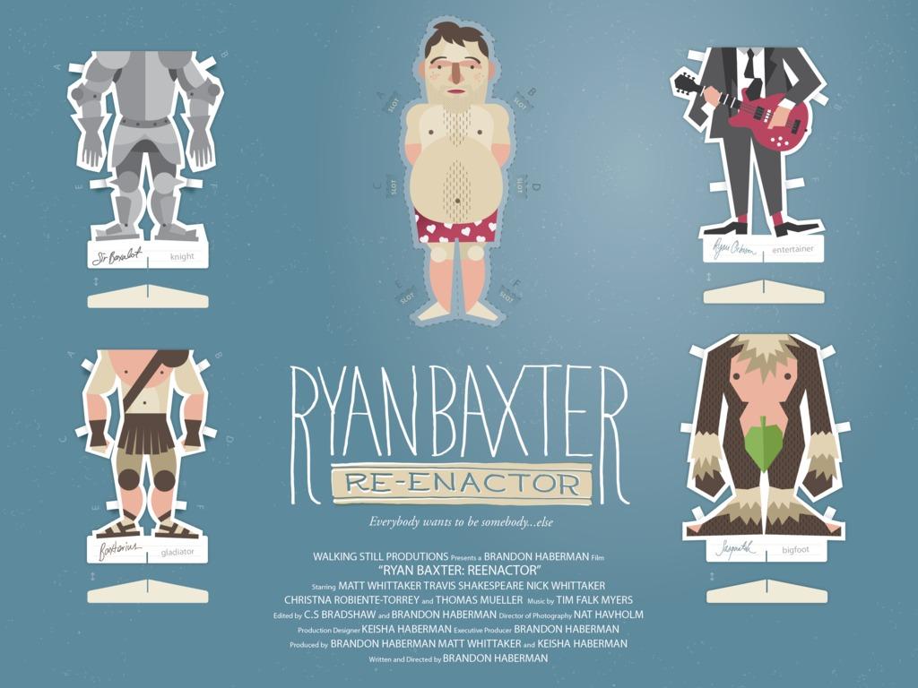 Ryan Baxter: Reenactor's video poster