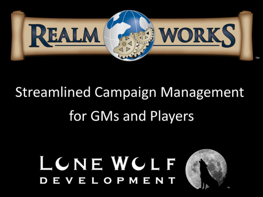 Realm Works - Streamlined RPG Campaign Tools's video poster
