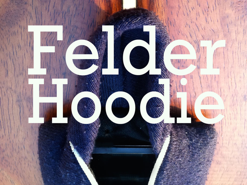 Felder Hoodie: iPhone's video poster