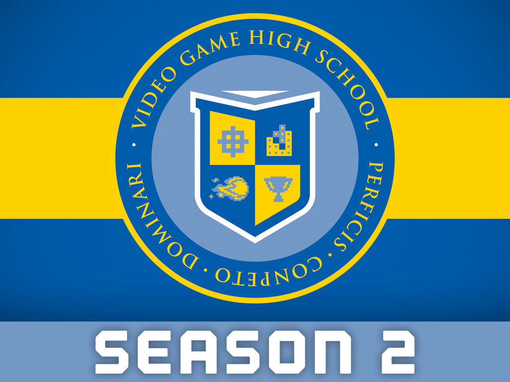 Video Game High School: Season Two's video poster