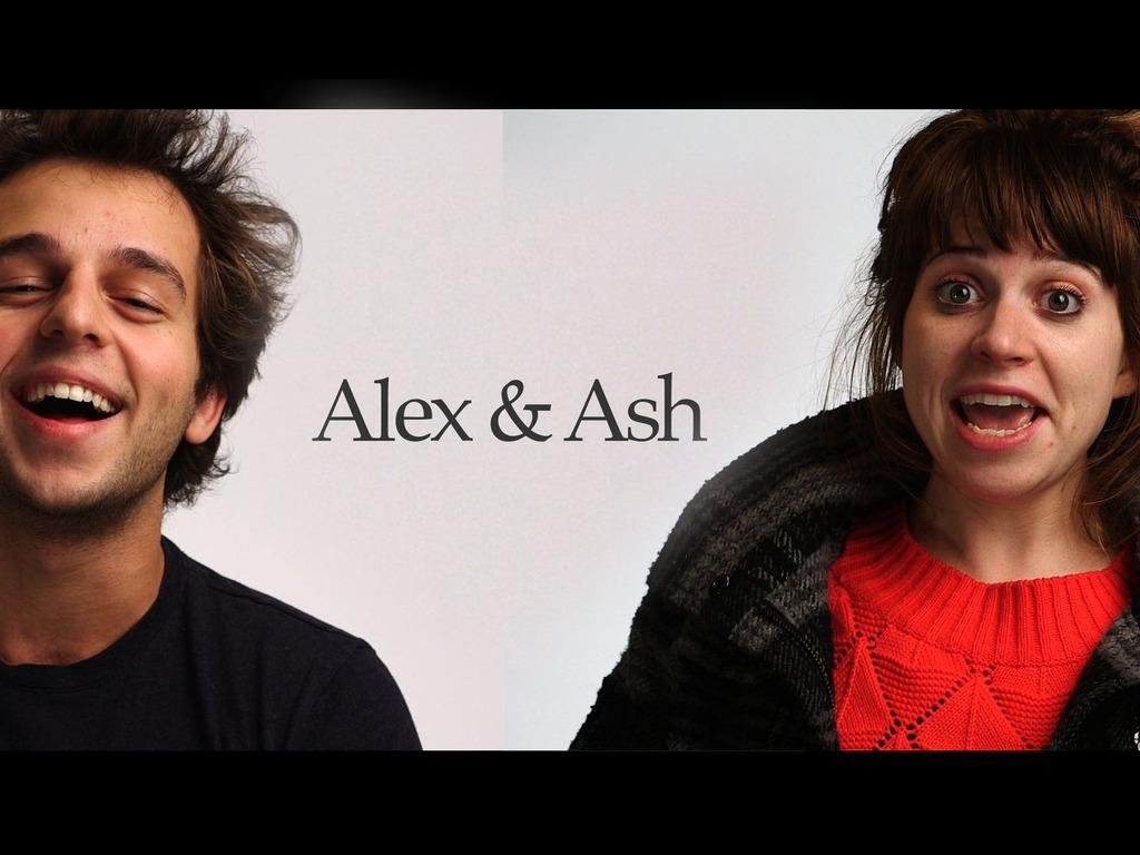 Alex & Ash's video poster