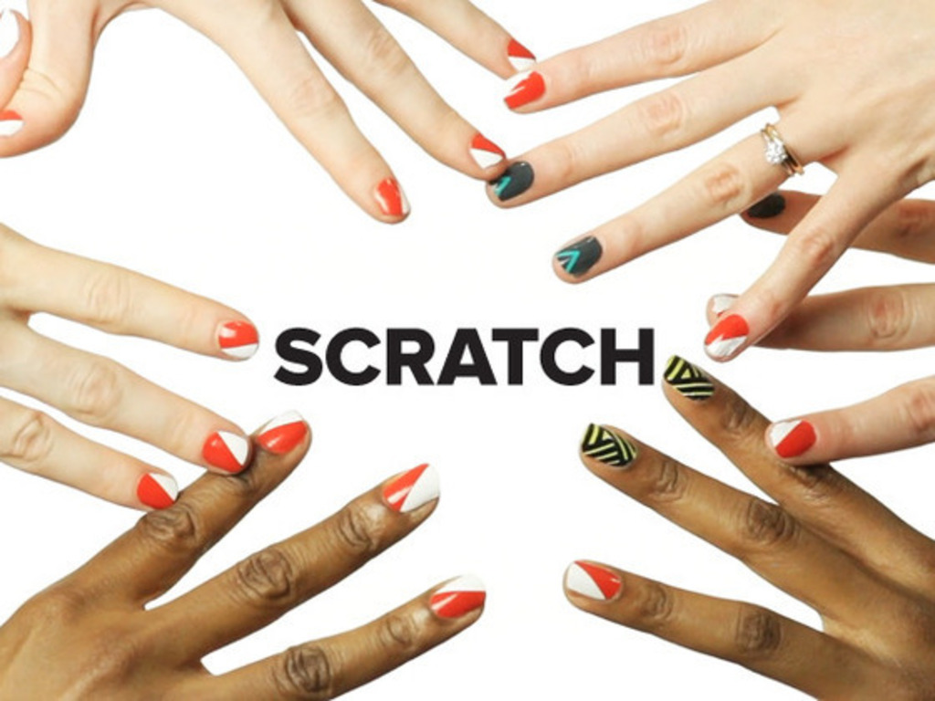 SCRATCH: collaboratively designed nail polish wraps!'s video poster