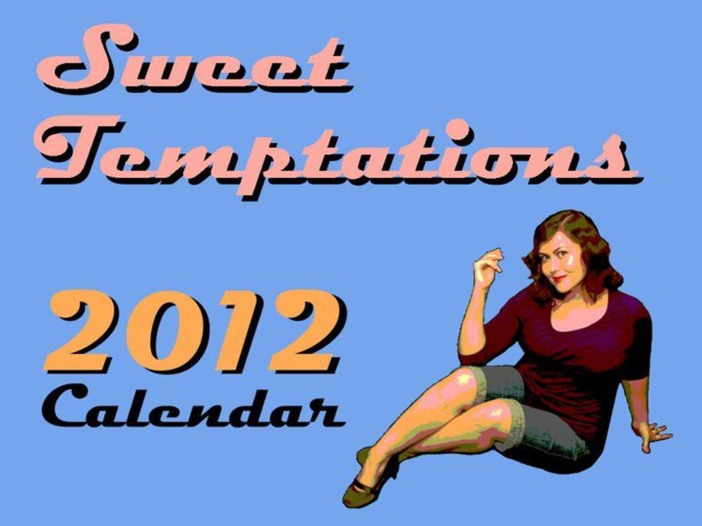 Sweet Temptations 2012 Calendar's video poster