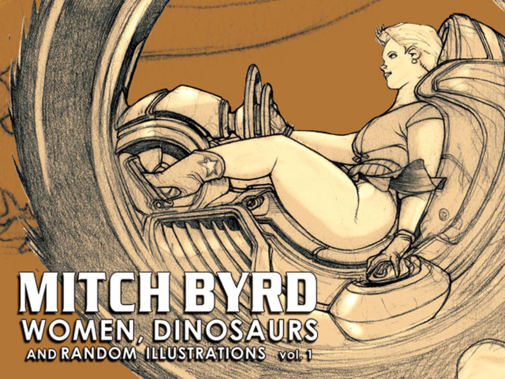 Mitch Byrd: Women, Dinosaurs Sketchbook vol. 1's video poster