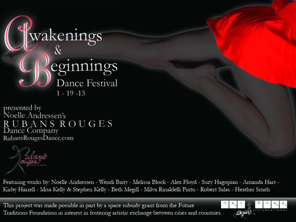 Awakenings & Beginnings Dance Festival 2013's video poster