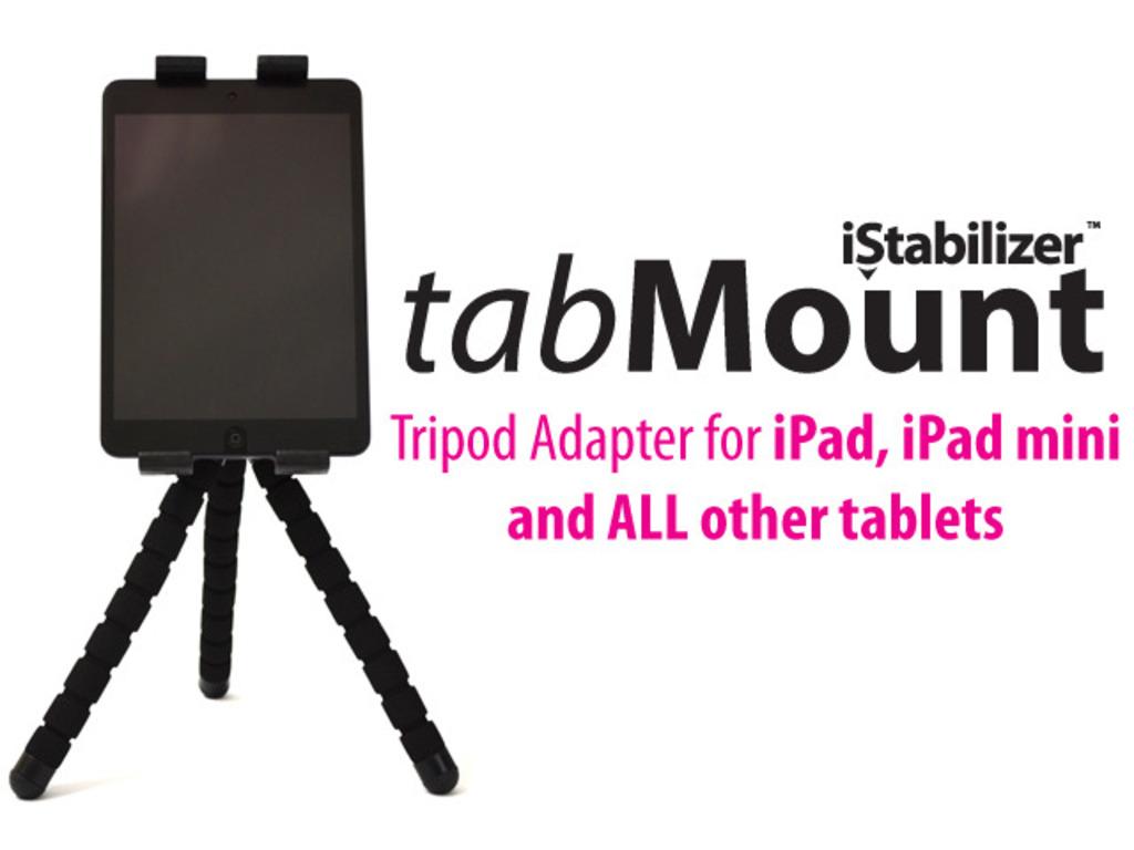 tabMount - Tripod Adapter for iPad, iPad mini, & All Tablets's video poster