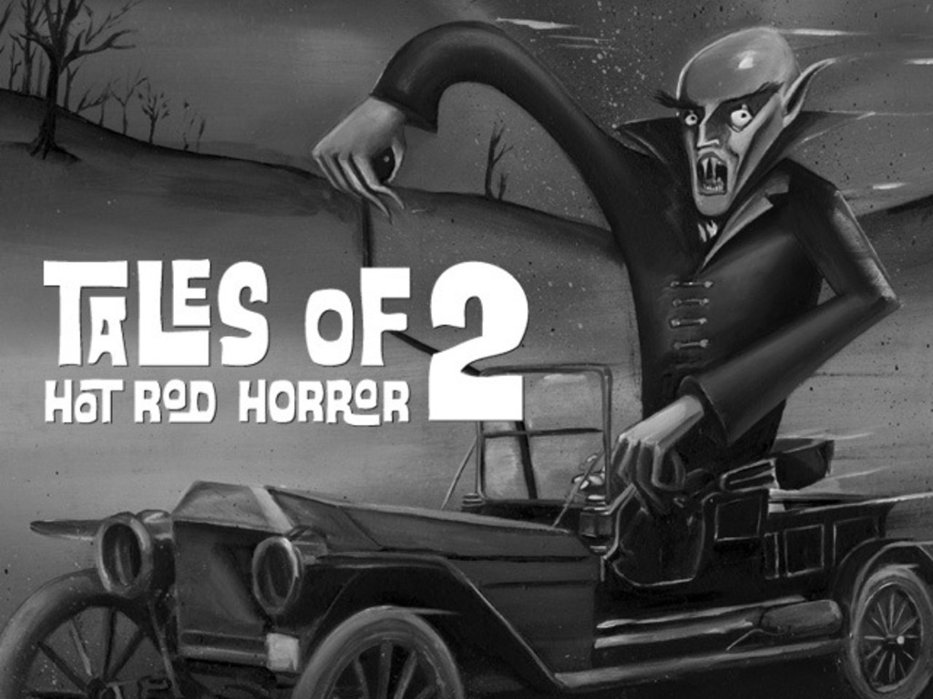 Tales of Hot Rod Horror Volume 2's video poster