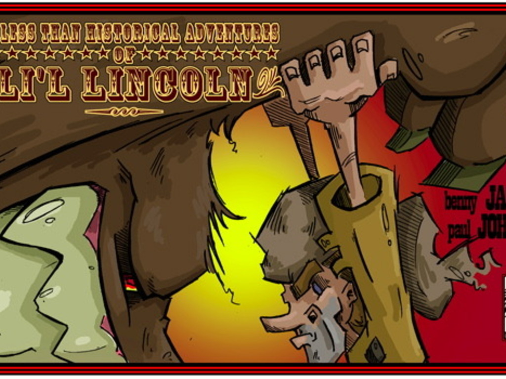 The Less Than Historical Adventures of Li'l Lincoln Vol. 1's video poster