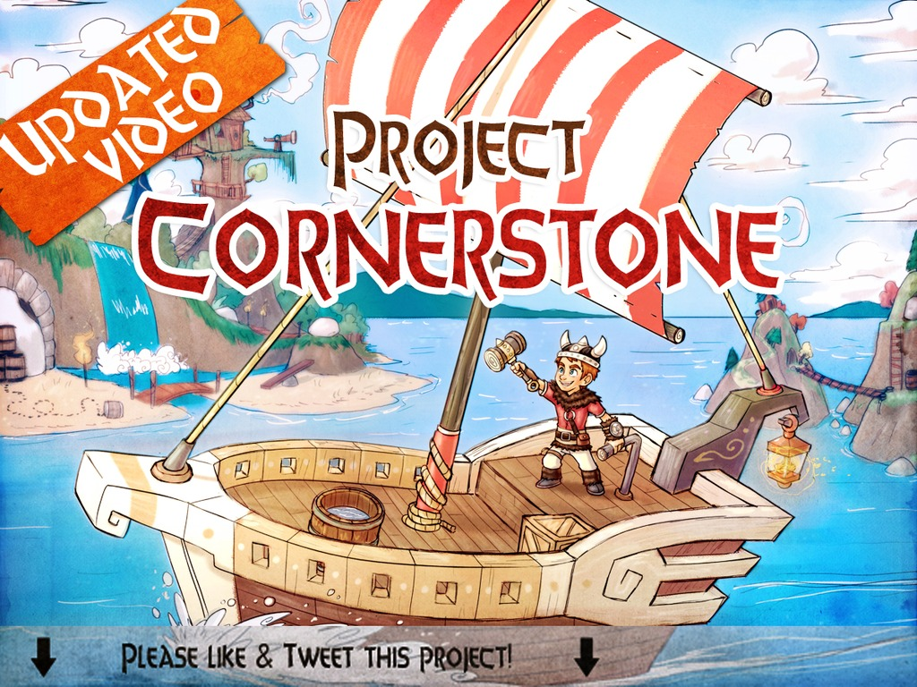 Project Cornerstone's video poster