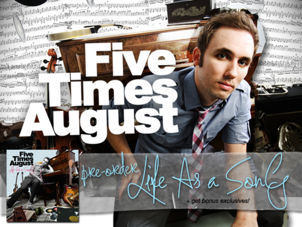 Release The Next Five Times August Album! 's video poster
