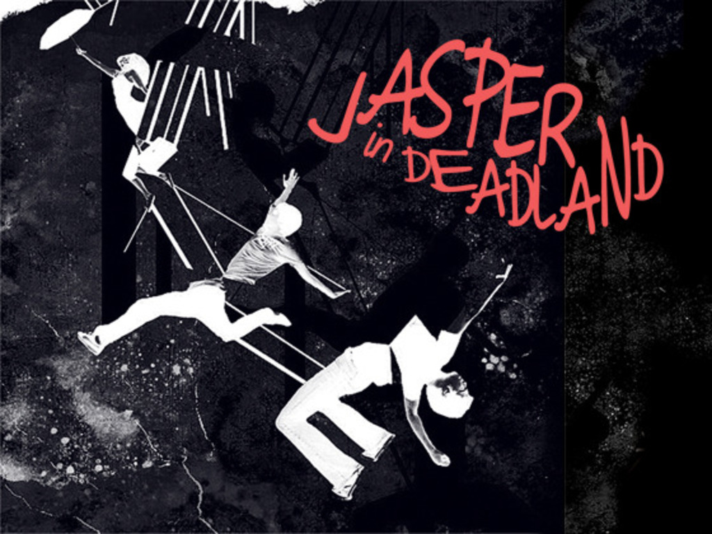 Jasper in Deadland, a new musical's video poster