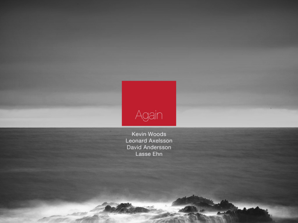 "Kevin Woods/Leonard Axelsson Quartet ""Again"" Album Project's video poster"