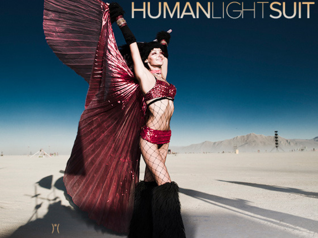 the Human Light Suit: BRC2011's video poster