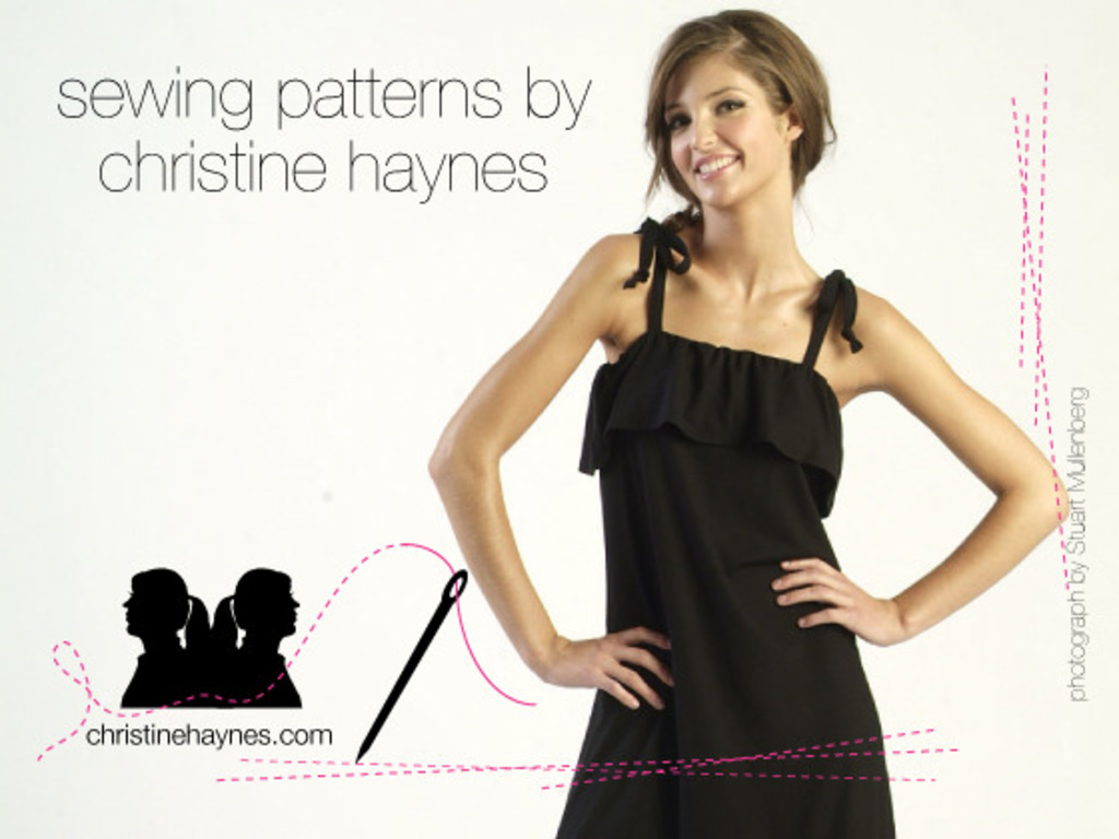 Christine Haynes Launches Sewing Patterns!'s video poster