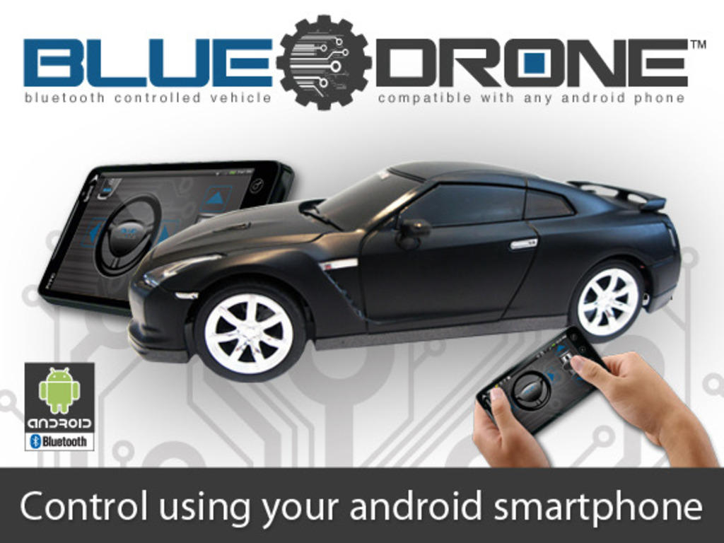 BlueDrone: Android Controlled R/C Car's video poster
