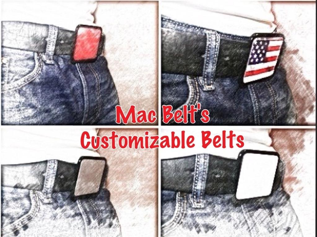 The Mac Belt's - Hands Free iPad Mini Holder, Mac Belt SLIM's video poster