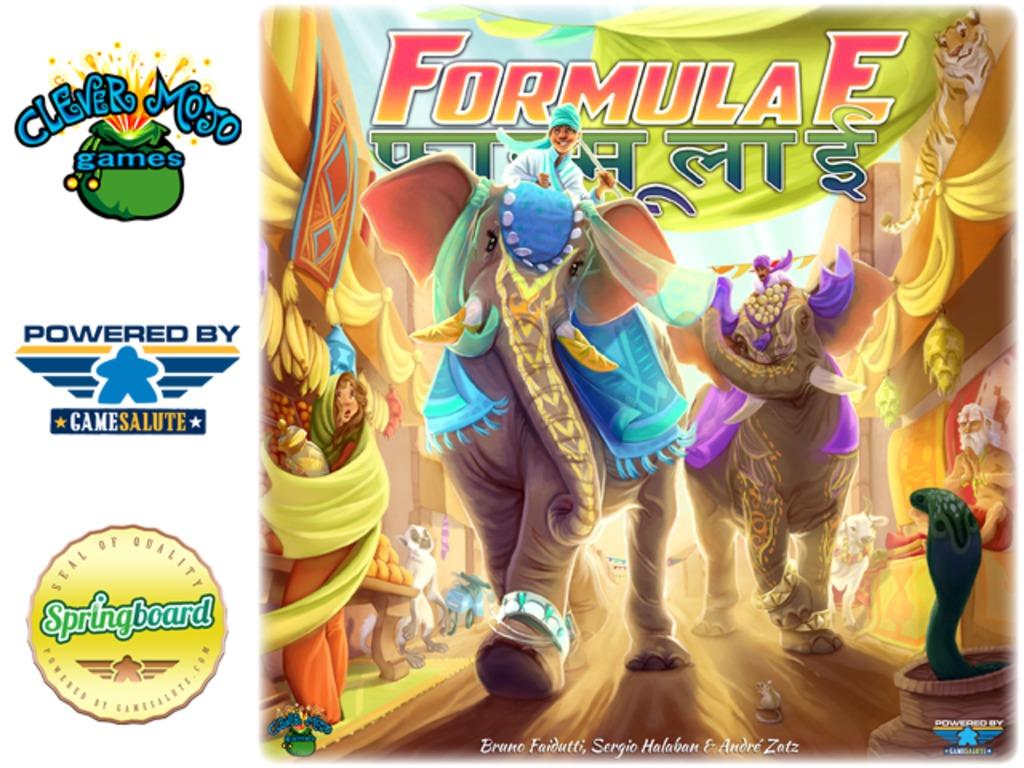Formula E's video poster