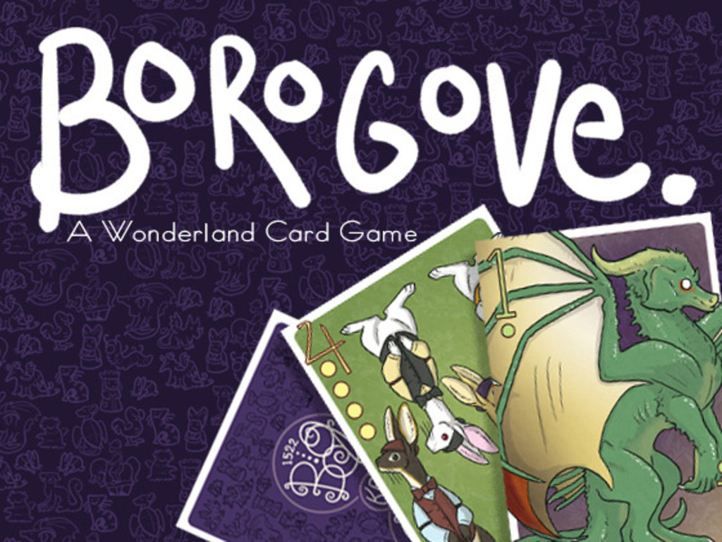 Borogove - A Wonderland Card Game!'s video poster