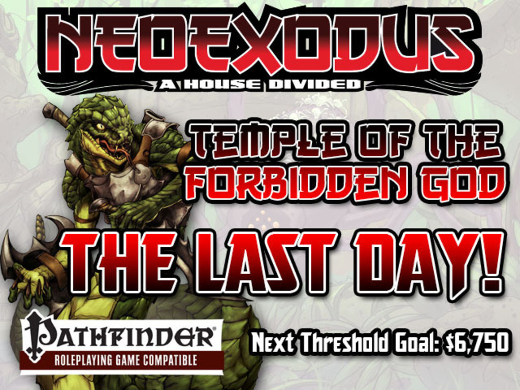 Free RPG Day 2013 NeoExodus Adventure for Pathfinder RPG's video poster
