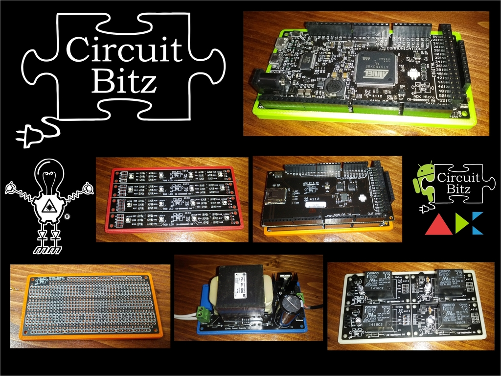 """Circuit Bitz """"Open Source Circuit Project"""" Android ADK 2012's video poster"""