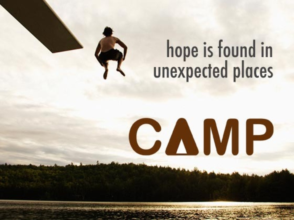 CAMP - Inspired by true stories from camp for foster kids's video poster