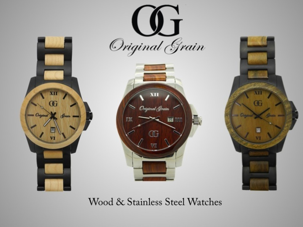 Original Grain: All-Natural Wood & Stainless Steel Watches's video poster