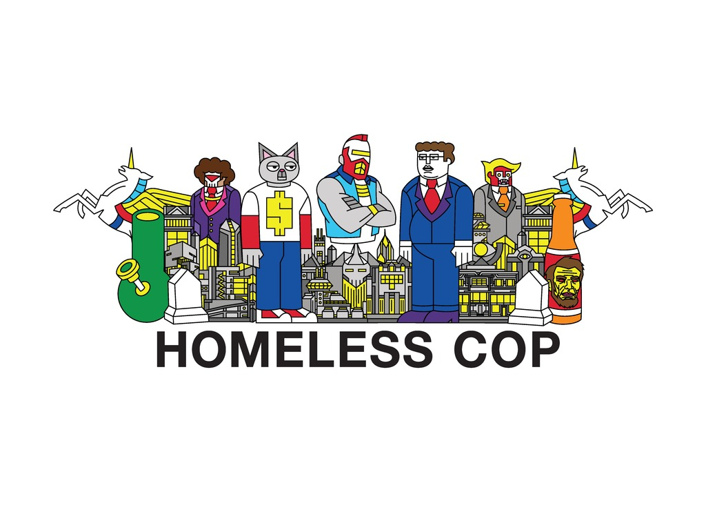 Homeless Cop's video poster