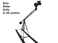 Solo Slider Dolly & Camera Jib system