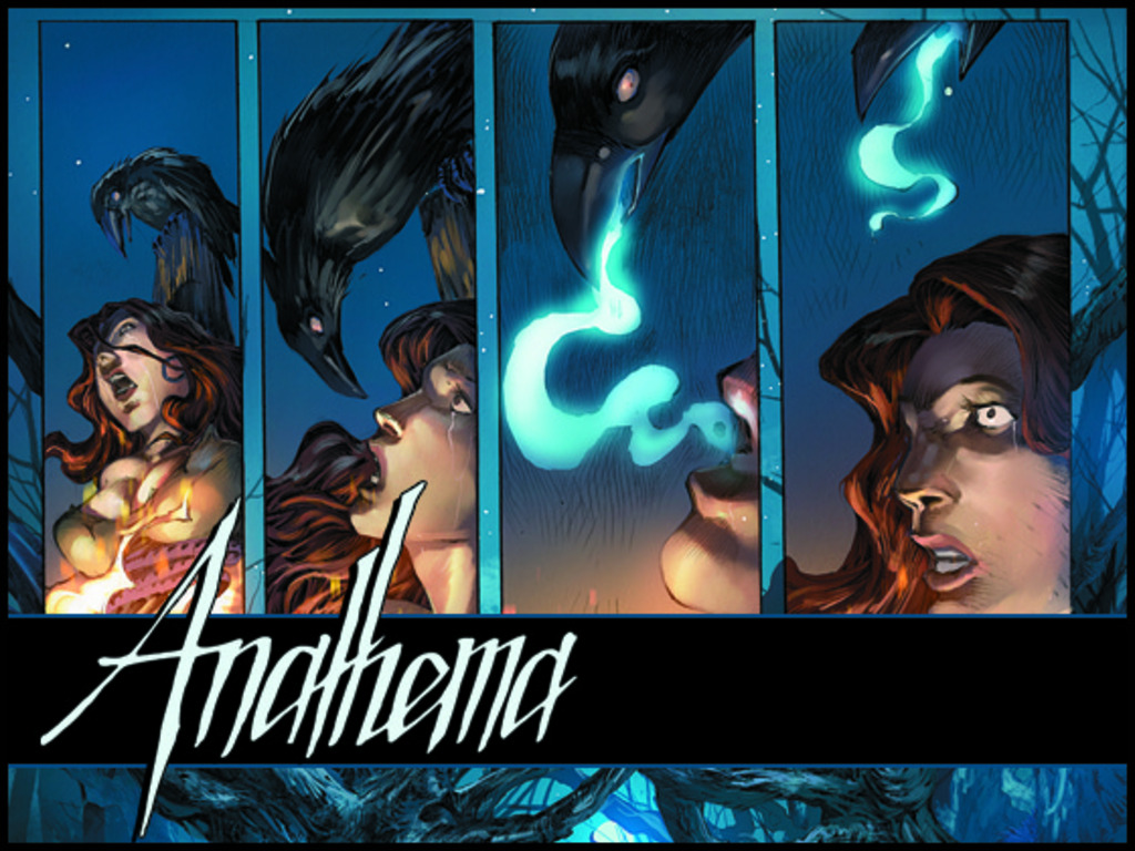 Anathema - A Return to Classic Horror in Comics's video poster