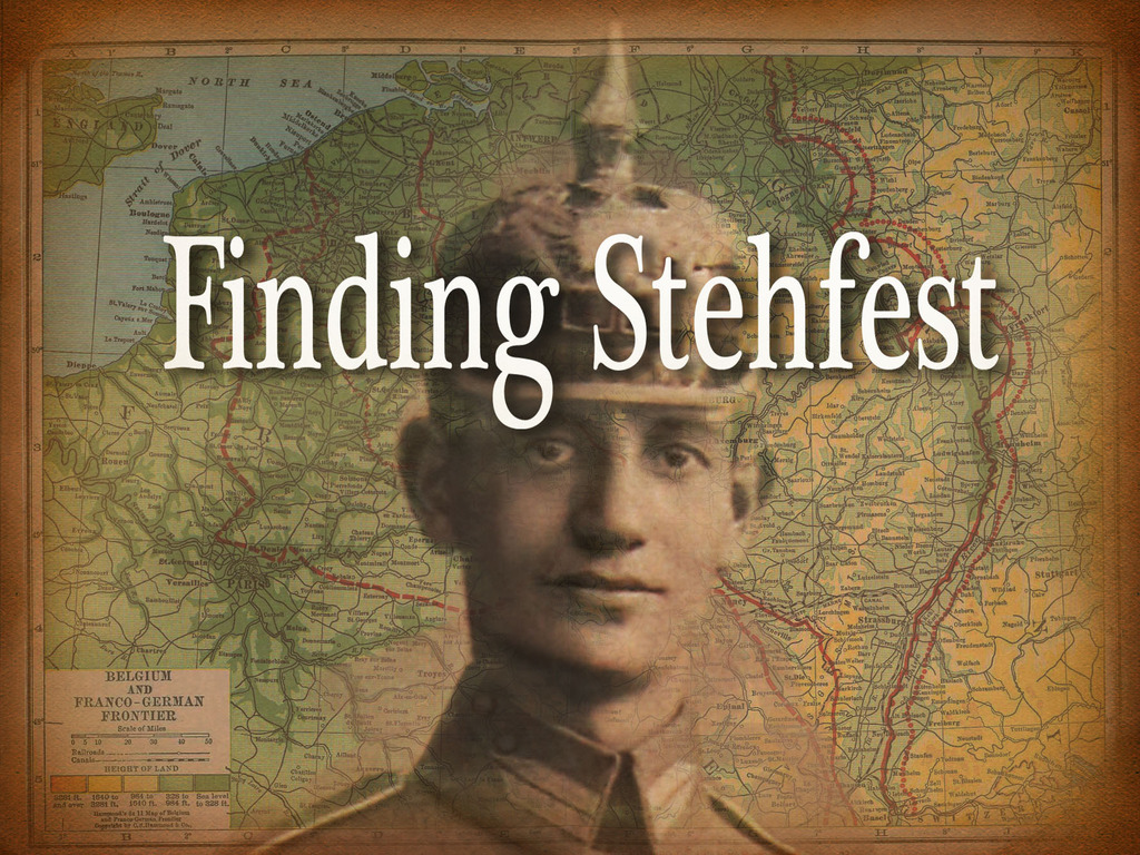 Finding Stehfest's video poster