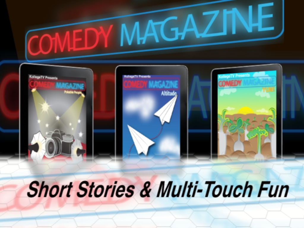 Comedy Magazine for iPad's video poster