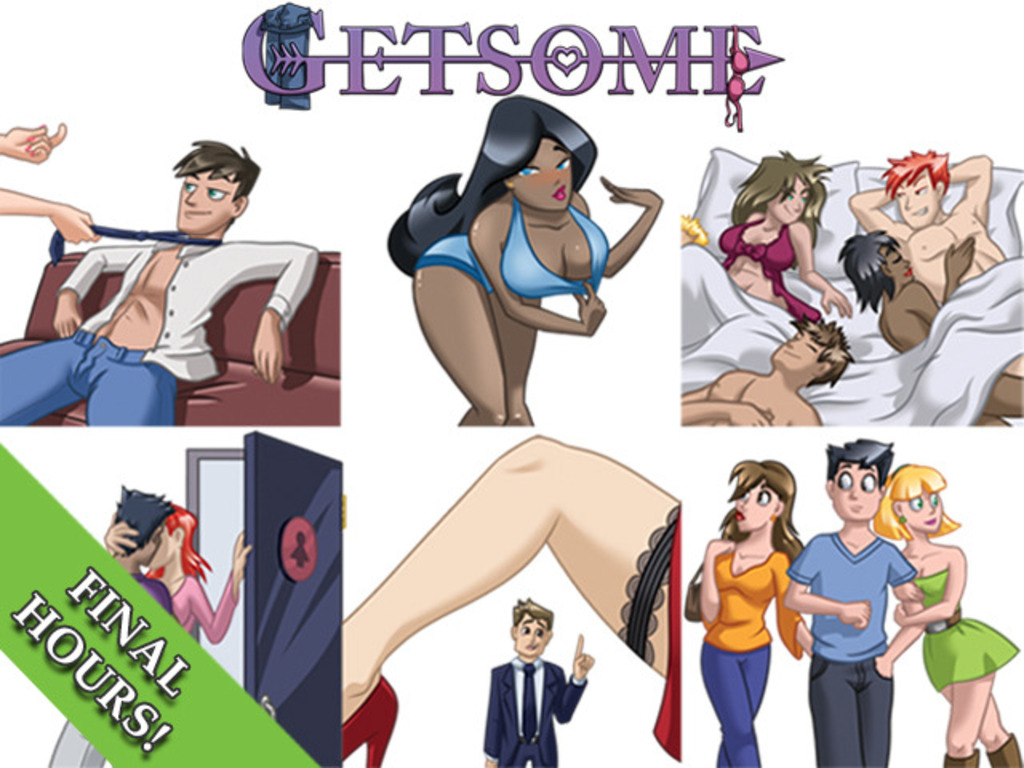 GETSOME: A naughty card game for normal people's video poster