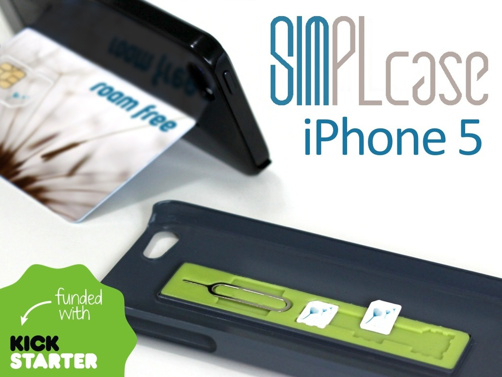 SIMPLcase ~ Minimalist iPhone 5 Case for Travelers's video poster